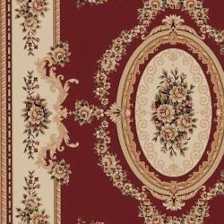 Χαλί Κλασικό σχέδιο σε μπoρντό χρώμα
