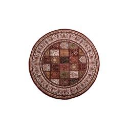 Χαλί Ροτόντα Κλασικό σχέδιο σε μπoρντό μοτίβο