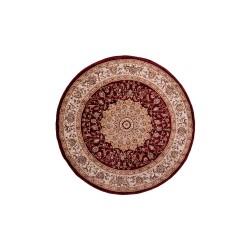 Χαλί Ροτόντα Κλασικό σχέδιο σε χρώμα μπoρντό
