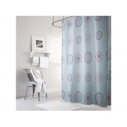 Κουρτίνα μπάνιου σχέδιο Datura 1,80 x 2,00εκ