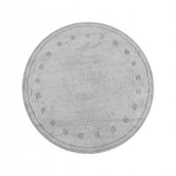 Ροτόντα βαμβακερή 120x120 Cottony Art 9554 Γκρι