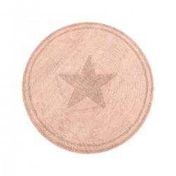 Ροτόντα βαμβακερή 120x120 Cottony Art 9555 Ροζ