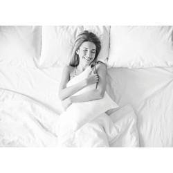 Σεντόνι Ξενοδοχείου μονό Medial 170tc-Percale 60%Cot-40%Pol Λευκό 160x265