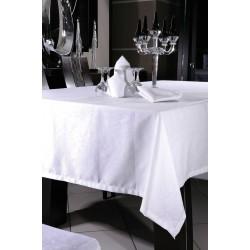 Τραπεζομάντηλο Art 8088 σε 2 χρώματα - 160x270 Λευκό Beauty Home