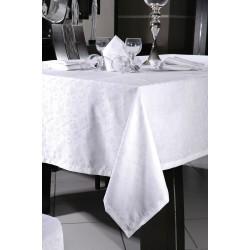 Τραπεζομάντηλο Art 8089 - 160x270 Λευκό Beauty Home