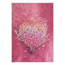 Χαλί Cool Art 9529 - 120x180 Ροζ Beauty Home