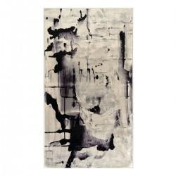 Πατάκι Aerial Art 9032 0.80x1.50 Γκρι, Μαύρο Beauty Home