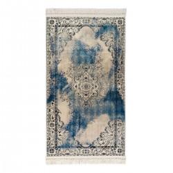 Πατάκι Aerial Art 9041 0.80x1.50 Μπεζ, Μπλε Beauty Home