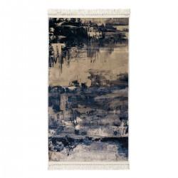 Πατάκι Aerial Art 9044 0.80x1.50 Μπεζ, Μπλε Beauty Home