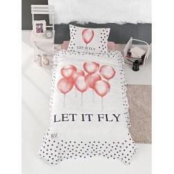 Κουβερλί μονό Fly Art 6110