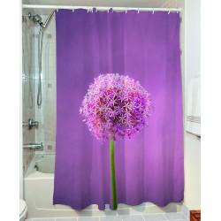 Κουρτίνα μπάνιου Smooth Art 3065 190x180 Γαλάζιο Beauty Home