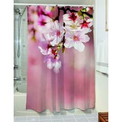 Κουρτίνα μπάνιου Wipe Art 3128 190x180 Ροζ Beauty Home
