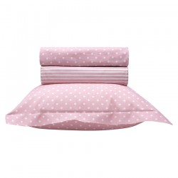 Σετ σεντόνια βρεφικά Art 5132-Pink