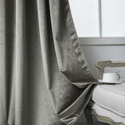 Κουρτίνα βελούδο σκίασης με 8 κρίκους Art 8399 - 140x270 - Βιζόν Beauty Home