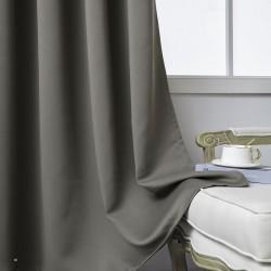 Κουρτίνα Blackout σκίασης με 8 κρίκους Art 8400 - 140x270 - Καφέ Beauty Home